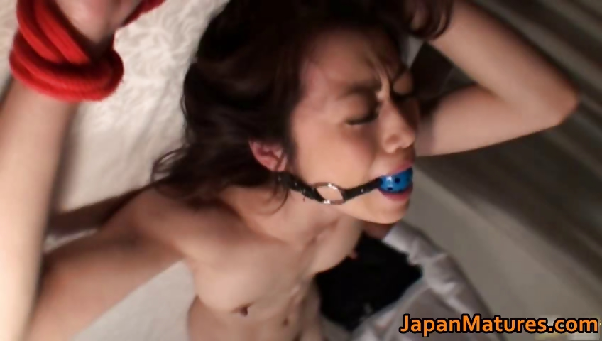 Porn Tube of Horny Japanese Mature Babes Sucking Part2