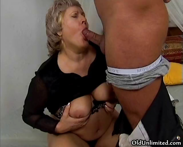 Porno Video of Grandma Gets Her Wet Pussy Fucked Part4