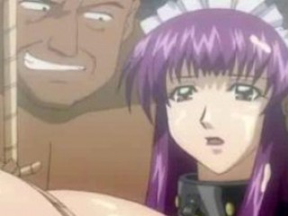 Chained shemale hentai maid blowjob