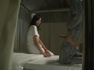 Porn Tube of Hot Japanese Nurse Fucks Patient