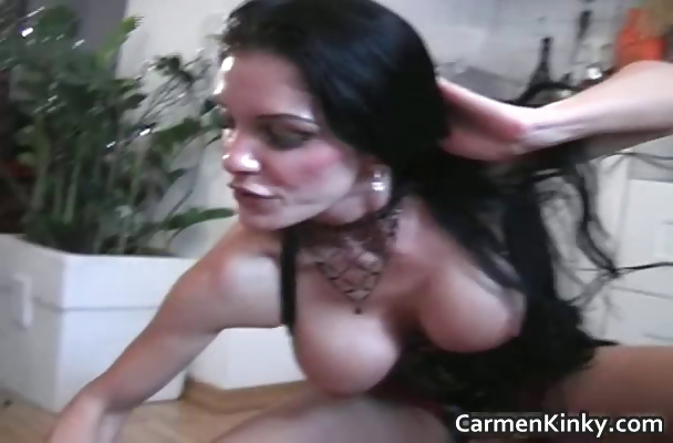 Porn Tube of Big Tits Carmen In Great Dirty S And M Part3