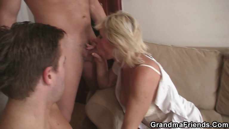 Porn Tube of She Gets Pleased By Two Big Rods