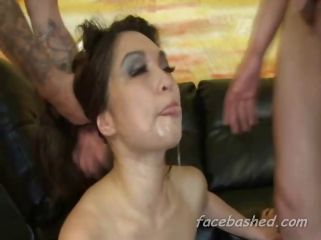 Porn Tube of Extreme Hardcore Gangbang Of Pornstar And She Likes It Rough