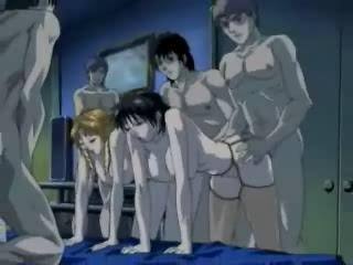 Porno Video of Japanese Orgy Cartoon