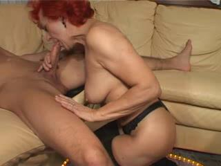 Porno Video of Red Granny