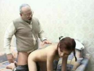 Porno Video of Very Old Grandpa Fucks Young Teen