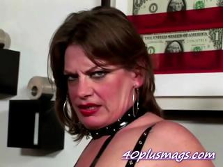 Brutal chubby mature