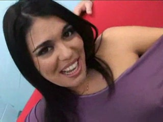 Big tits latina babe with big booty ass gets into hardcore s