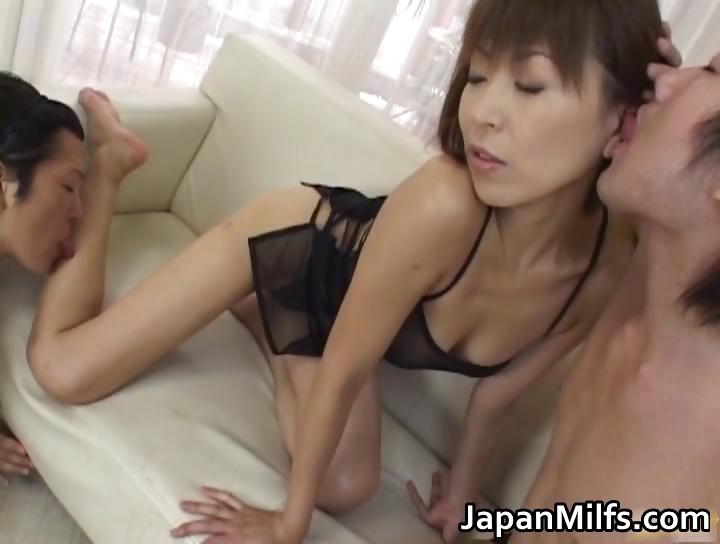 Porno Video of Fine Ass Slut Jun Kusanagi In Gangbang Part1