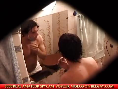 Porno Video of Caught Masturbating In Bathroom