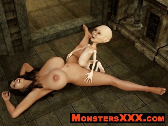 Sex Movie of Horrible 3d Creatures Fucking Innocent Chicks