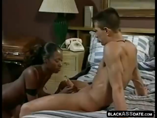 Sex Movie of African Model In A Sexy Interracial Hardcore