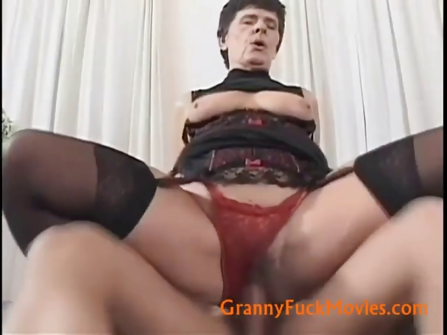 Porno Video of Granny Whore With Firm Tits
