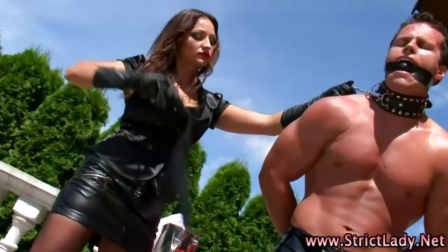 Porno Video of Femdom Fetish Whore Loser Yields