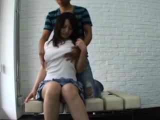 Уговорил японскую маму на секс