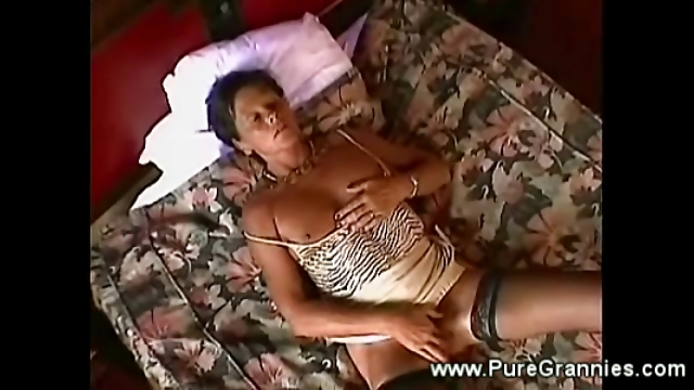 Porno Video of Classy Granny Fantasy Fullfiled