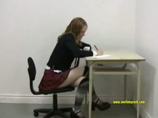 Porn Tube of Schoolgirl Sucks A 5 Inch Cock