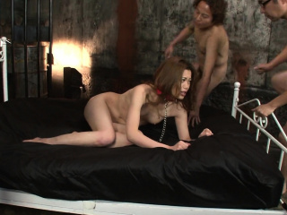 Дедушка и девушка японский секс