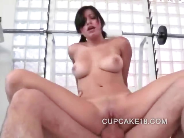 Porno Video of Latina Beauty Riding On A Big Cock That Slams Her Wet Pussy Deep