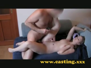 Porn Tube of Casting Creampie Of Beautiful Babe