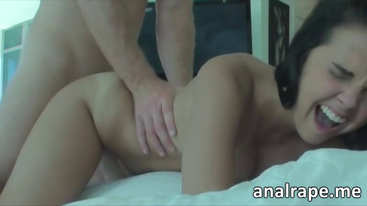 Porn Tube of Petite Teen Anally Ravaged For The First Time In Her Life And She Loves It