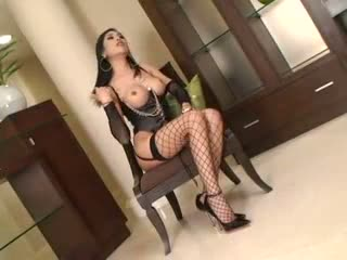 Ladyboy In Lingerie Anally Penetrated