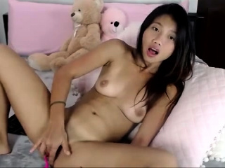 Spicy Asian Masturbation Solo