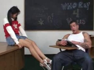 Porno Video of Asian Schoolgirl Fucked Hard In Classroom