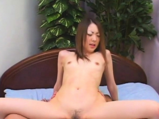 Sana Nakajima takes care of a small dick