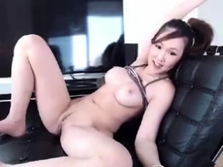 Horny japanese girl webcam masturbation