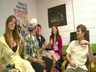 Porn Tube of College Dorm Sex Game With Hot Chicks