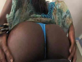 Porn Tube of Amazing Black Tgirl With A Huge Prick