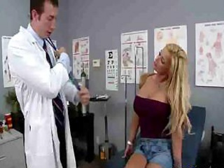 Doctor And Busty Blonde