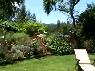 Porn Tube of Mom Son Sex In The Garden