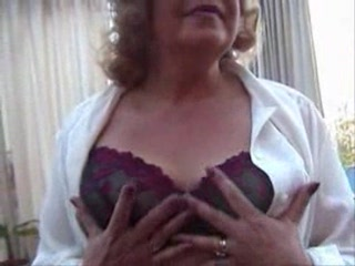 Fishnet Stockings Granny Strips