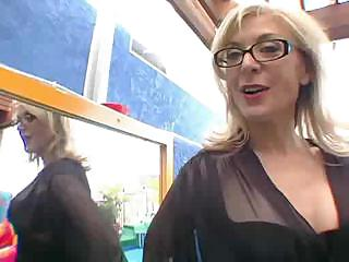 Porn Tube of Nina Hartley Has Her First Squirt