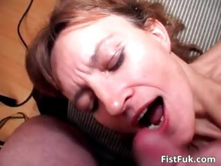 This mature slut can enjoy only if her part4