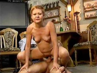 Porno Video of Granny Cannot Resist Cock