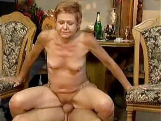 Granny Cannot Resist Cock
