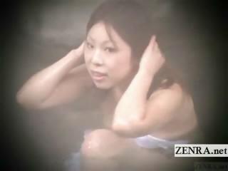 Шикарная секретарша трахается в бане
