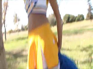 Breanne Benson Creampied Cheerleader