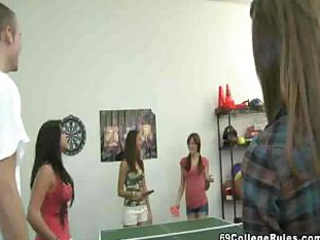 College Stud Plays Ping Pong With His Dick