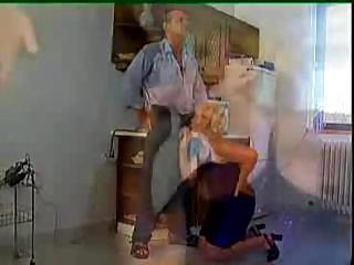 Porn Tube of Mikes Dad Gets Granny Sex