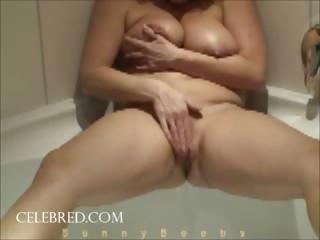 Fun in the Bathtub mature fat amateur whore wives bbw homemade shower masturbation