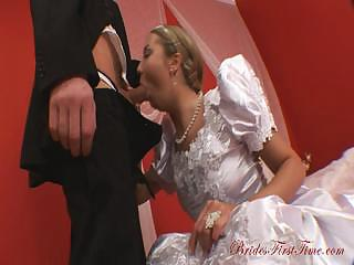 Porno Video of Attractive Bride Helen During Her Wedding Night