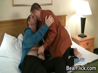 Chubby gay men Craig Knight and Russ part3