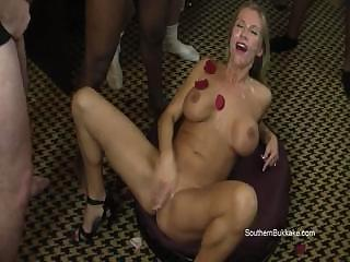 Porno Video of Karina - Big Boob Milf Bukkake