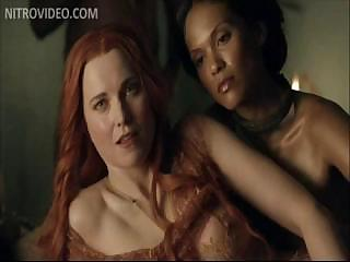 Porno Video of Xena's Lucy Lawless Nude In Spartacus