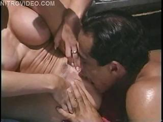 Guy Dasilva Unloads On Jeanna Fine's Face