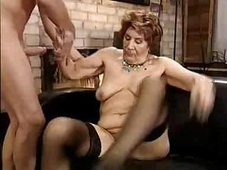 Porno Video of Hardcore German Granny Porn